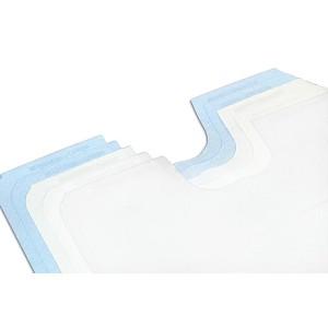 BodyMed Disposable Paper Exam Gowns Case of 50