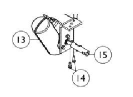 Invacare Motor Hi/Lo with Bracket 1116653
