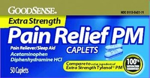 GoodSense Extra Strength Pain Relief PM