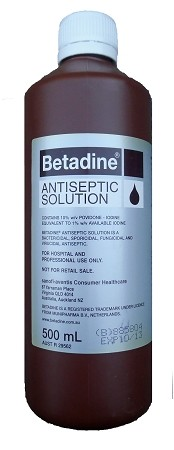 Betadine Prep Solution 10% Povidine-Iodine