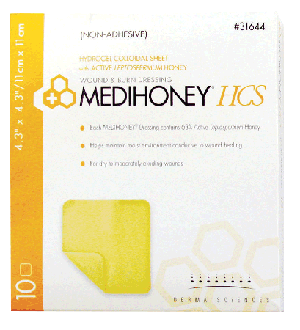 MEDIHONEY Adhesive Hydrogel Dressing