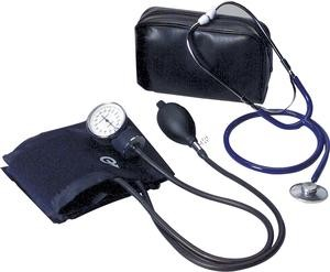 Home Blood Pressure Kit with Un-Attached Stethoscope