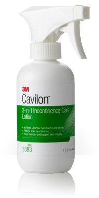3M Cavilon 3-in-1 Incontinence Care Lotion 8 oz bottle
