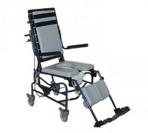 ActiveAid 283 Adult Tilt Shower Commode Chair