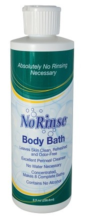Cleanlife No Rinse Body Bath Concentrate