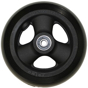 "5"" x 1"" Hollow Spoke Caster w/ Urethane Tire"