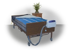 "Med-Aire Plus 10"" Bariatric Alternating Pressure Mattress Replacement System"