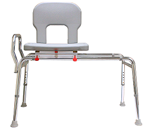 Eagle Tall Bariatric Swivel Sliding Transfer Bench