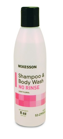 McKesson No-Rinse Shampoo and Body Wash