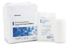 McKesson Sterile Conforming Stretch Gauze Bandages