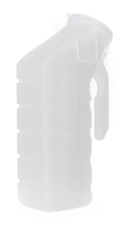 McKesson Male Urinal with Cover - 32 oz.