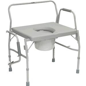 PMI Bariatric Drop-Arm Commode
