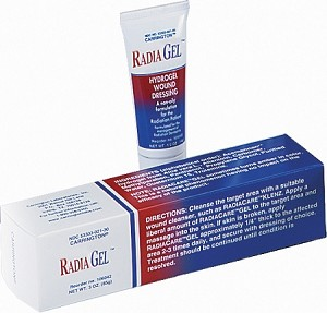 RadiaGel Hydrogel Wound Dressing - 3 oz. Tube