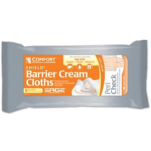 Sage Comfort Shield Barrier Cream Cloths