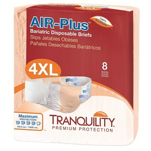 Tranquility AIR-Plus Bariatric Disposable Briefs