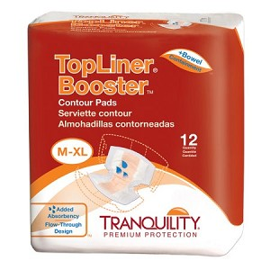 Tranquility TopLiner Booster Contours