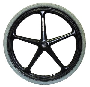 "X-Core 5-Spoke Wheel - 24 x 1 3/8"" (25-540)"