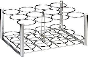 Chrome Oxygen Cylinder Rack