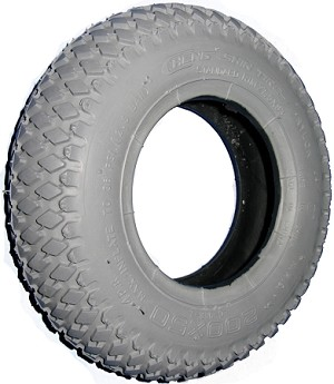"Primo Knobby Wheelchair Tire - 8 x 2"" (200-50)"