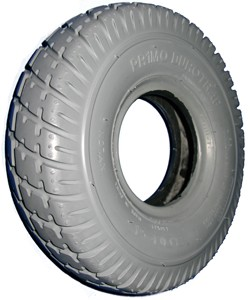"Primo Durotrap Wheelchair Tire - 10 x 3"", 260 x 85 (300-4)"