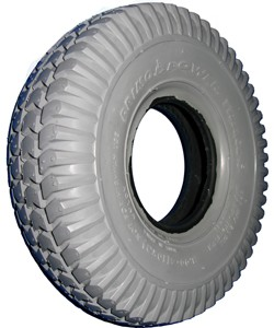 "Primo Power Trax Knobby Wheelchair Tire - 10 x 3"" (260 x 85, 300-4)"