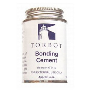 Torbot Liquid Bonding Cement 4 oz. Can with Brush
