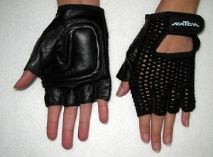 1/2 Fingers Push Gloves