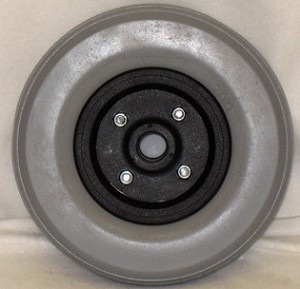 "8"" x 2.25"" Two Piece Caster with Urethane Tire"