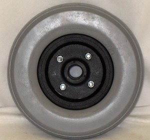 "8"" x 2.25"" Invacare Caster with Urethane Tire"