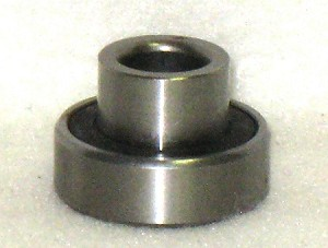 "Rear Wheel Bearing with 3/8"" Extended Race, 7/16"" x 1-1/8"""