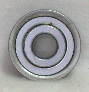 "Rear Wheel Flanged Bearing, 1/2"" x 1-3/8"""