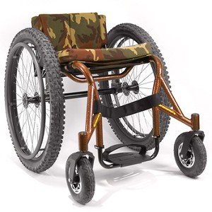 Top End Crossfire All Terrain Wheelchair At Indemedical Com