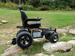 The Nomad All-Terrian Power Wheelchair