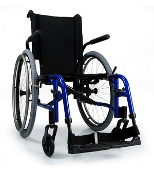 Quickie QXi Lightweight Folding Wheelchair