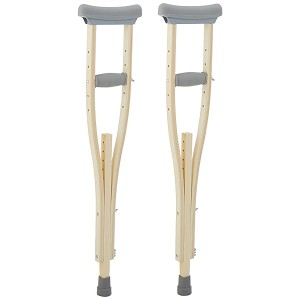Laminated Wooden Crutches