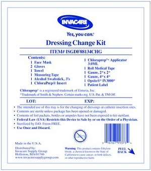 Central Line Dressing Change Kit with Opsite®