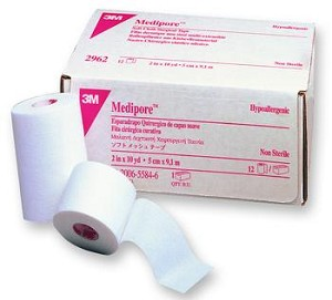 3M Medipore Soft Cloth Tape