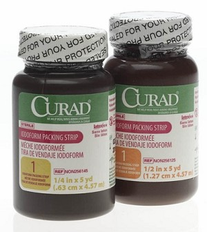 Curad Packing Strips - Iodoform