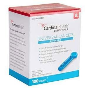 Cardinal Universal Safety Seal Lancet 30G - Box of 100